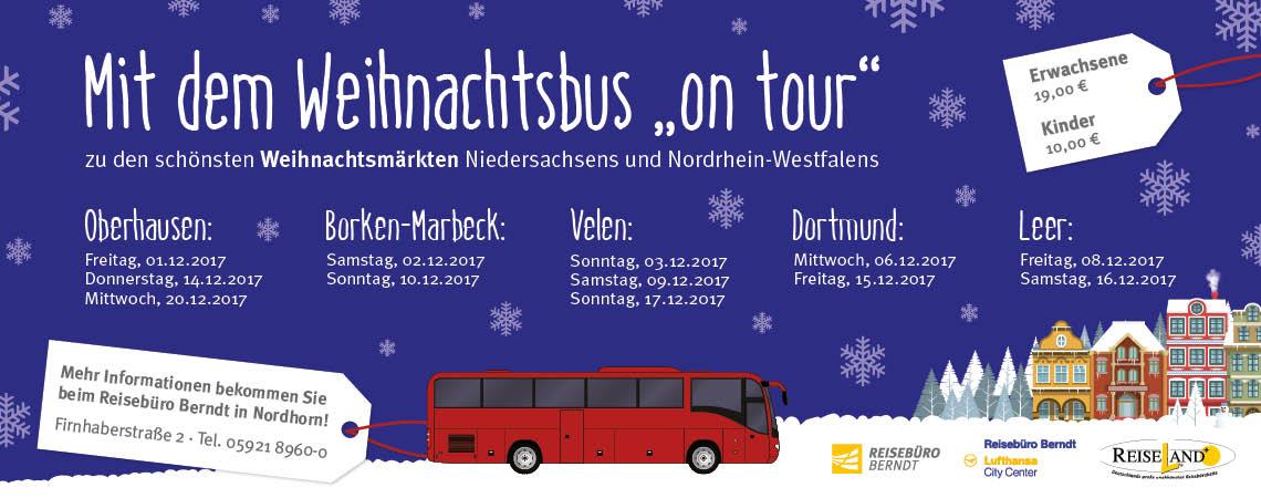 Weihnachtsfahrten der Bentheimer Eisenbahn 2017