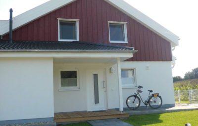 Ferienhaus Nordic Frontansicht