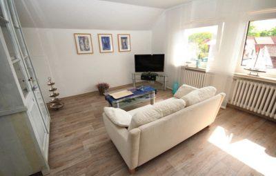 Ferienwohnung Luftikus II Wohnzimmer