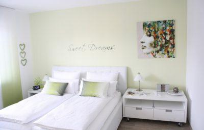 Ferienwohnung Luftikus III Schlafzimmer