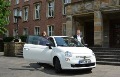 Elektroauto Stadt Nordhorn